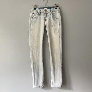 Hudson Light Wash Nicole Ankle Skinny Jeans - 24